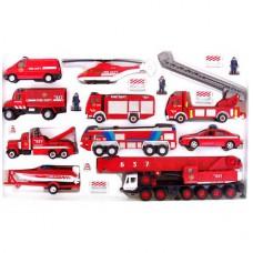 набор машин Пожарная служба 20 шт.